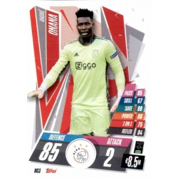 André Onana Update Card AFC Ajax UC3