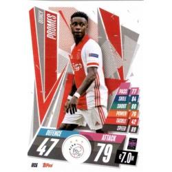Quincy Promes Update Card AFC Ajax UC6