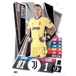 Wojciech Szczęsny Update Card Juventus UC21