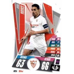 Jesús Navas Update Card Sevilla FC UC24