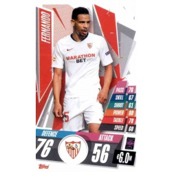 Fernando Update Card Sevilla FC UC25