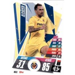 Paco Alcácer Update Card Villarreal UC31