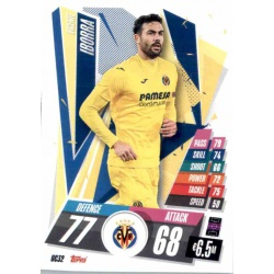 Vicente Iborra Update Card Villarreal UC32