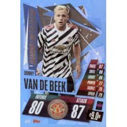 Donnie van de Beek Diamond Limited Edition Manchester United LE13