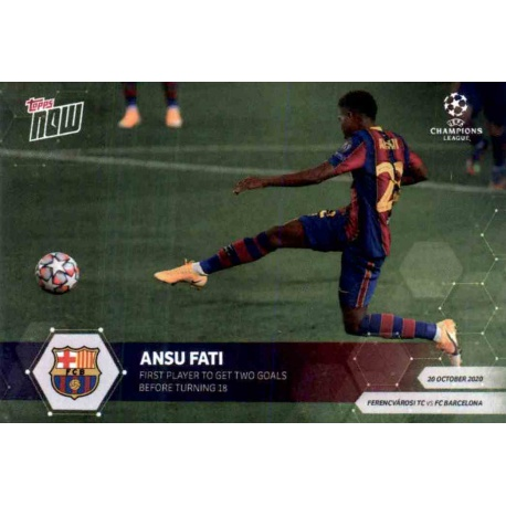 Ansu Fati Barcelona Rising Stars RS5
