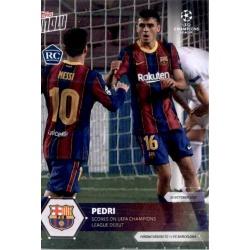 Ansu Fati Barcelona Topps Now