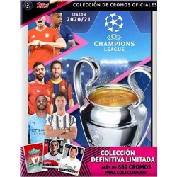 Collection Topps Match UCL Stickers 2020-21