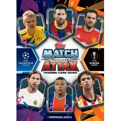 Collection Topps Match Attax 2020-21 (Spain and Portugal)