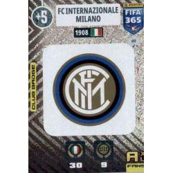 Escudo Inter Milan 49