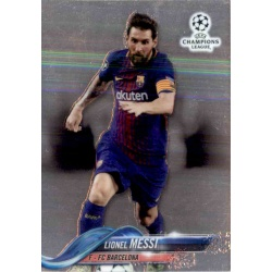 Lionel Messi Barcelona Topps Chrome 2018