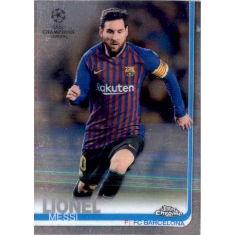 Lionel Messi Barcelona Topps Chrome 2019