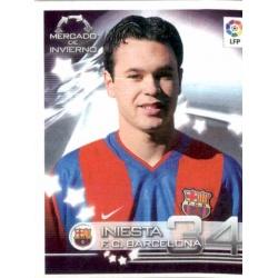 Iniesta Rookie SuperLiga 2002-03