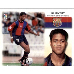 Kluivert Barcelona Este 1999-00