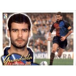 Guardiola Barcelona Este 2000-01