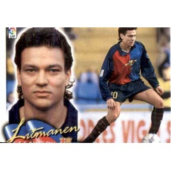 Litmanen Barcelona Este 2000-01