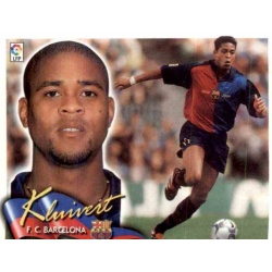 Kluivert Barcelona Este 2000-01