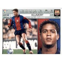 Kluivert Barcelona Este 2001-02