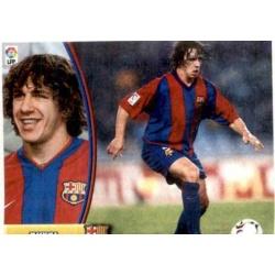 Puyol Barcelona Este 2003-04