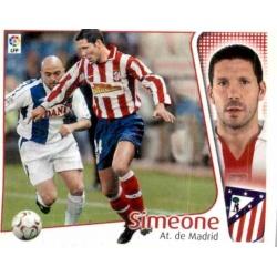Simeone Atlético Madrid Este 2004-05