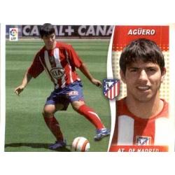 Aguero Atlético Madrid Este 2006-07