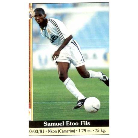 Samuel Eto'o Real Madrid Mundicromo 2000