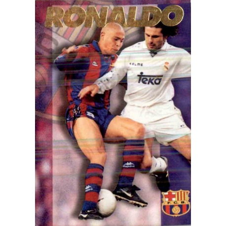 Ronaldo Barcelona Barcelona Panini Cards 1996-97
