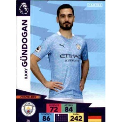 Ilkay Gundogan Manchester City 38