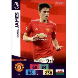 Daniel James Manchester United 54