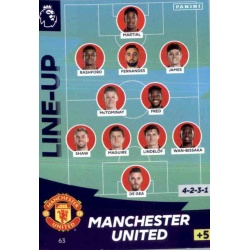 Line-Up Manchester United 63