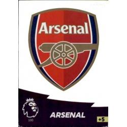 Club Badge Arsenal 100