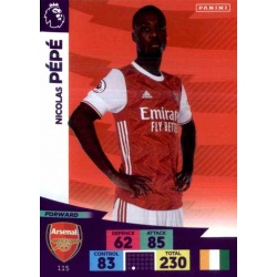 Nicolas Pépé Arsenal 115