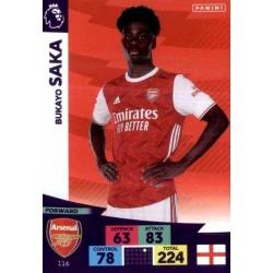 Bukayo Saka Arsenal 116