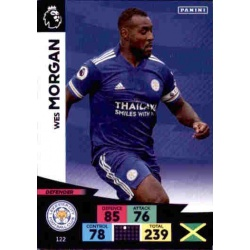 Wes Morgan Leicester City 122