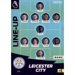 Line-Up Leicester City 135