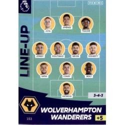 Line-Up Wolverhampton Wanderers 153