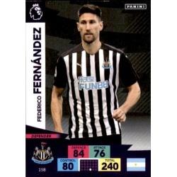 Federico Fernández Newcastle United 158