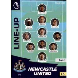 Line-Up Newcastle United 171