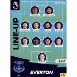 Line-Up Everton 189
