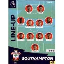 Line-Up Southampton 243