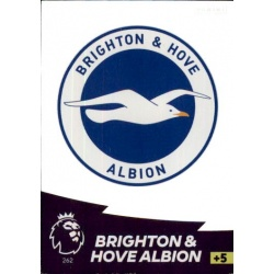 Club Badge Brighton & Hove Albion 262