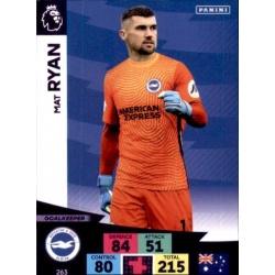 Matt Ryan Brighton & Hove Albion 263