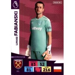Lukasz Fabiianski West Ham United 281