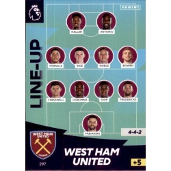 Line-Up West Ham United 297