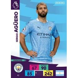 Sergio Agüero Manchester City 42