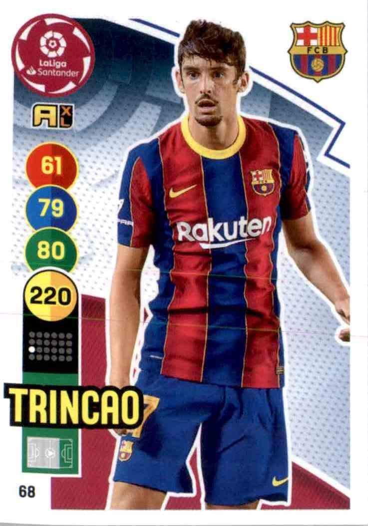 TRINCAO PANINI LIGA ESTE 2020//2020 ROOKIE STICKER LOT X2 FC BARCELONA