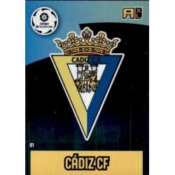 Escudo Cádiz 91