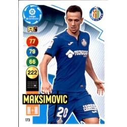 Maksimovic Getafe 173