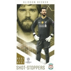 Alisson Becker Liverpool Shot-Stoppers 8