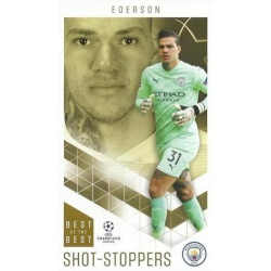 Ederson Manchester City Shot-Stoppers 9