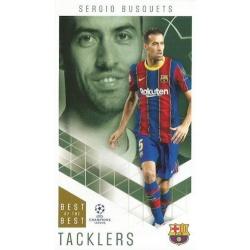 Sergio Busquets Barcelona Tacklers 13